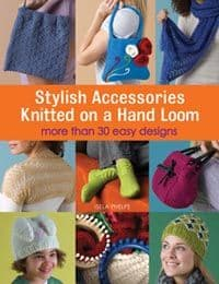 Stylish Accessories Knitted on a Hand Loom DISCONTINUED