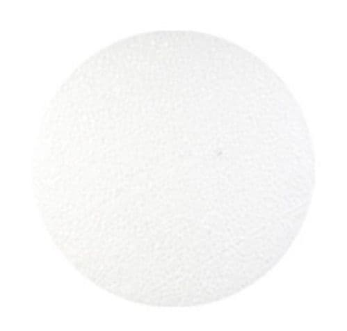 Styrofoam Disc Round Solid 23cm Medium Cake Shape