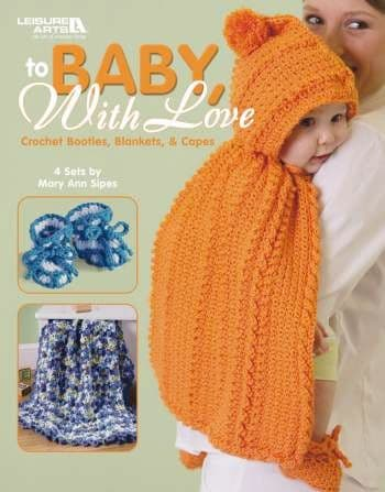 To Baby with Love Crochet Book LA 3797 DISCONTINUED