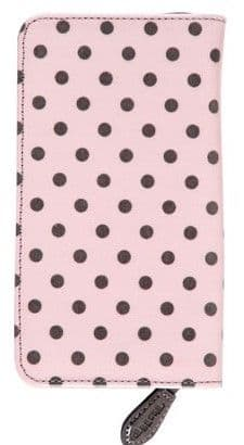 Tulip Sucre Pink Black Dot Crochet Hook Case