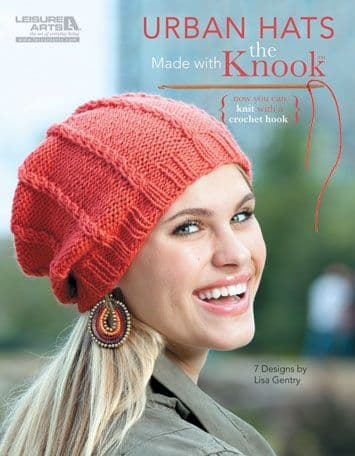 Urban Hats made with the KNOOK Book 5781 DISCONTINUED