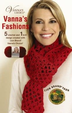 Vanna's Fashions Crochet & Knit Pattern Book A5 75281 DISCONTINUED