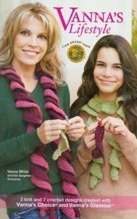 Vannas Lifestyle Crochet & Knit Pattern Book A5 75361 DISCONTINUED