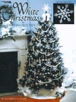 White Christmas in Thread Crochet Pattern Book LA 3232 DISCONTINUED