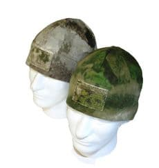 0241 Tactical  A-TACS Cold Weather Caps With Velcro Patch