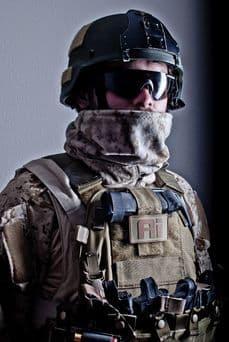 0241 Tactical Desert MARPAT Fleece Neck Gaiter   Tactical-Kit