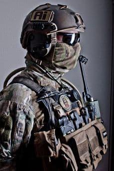 0241 Tactical Multicam Neck Gaiter Cotton Jersey | Tactical-Kit