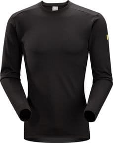 Arc'Teryx Leaf Phase AR Crew LS Black | Tactical-Kit