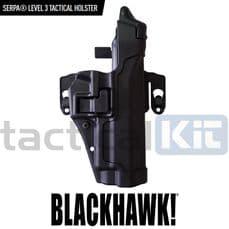 Blackhawk Level 3 CQC Serpa Holster With Molle Platform