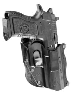 Fobus IWI Jericho 941 Polymer Baby Eagle with rails FL Holster
