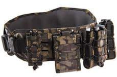 HSGI LASER Slotted Sure Grip Padded Belt Multicam Black