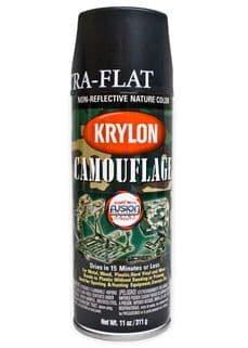 Krylon Black Spray Paint | Tactical-Kit