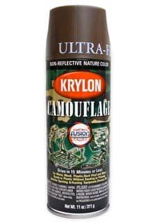 Krylon Brown Spray Paint | Tactical-Kit