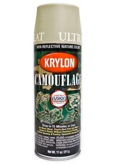 Krylon Khaki Spray Paint | Tactical-Kit