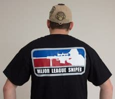 Mil-Spec Monkey Major League Sniper T-shirt - Black