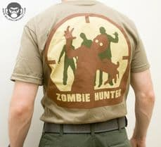 . Mil-Spec Monkey Zombie Hunter T-shirt Tan | Tactical-Kit