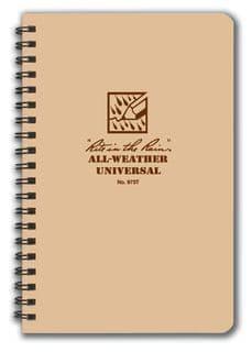 Rite In The Rain Side Spiral Note Book 4.6