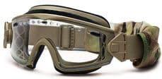 Smith Optics Elite LOPRO Regulator Goggles in Tan 2 Lens